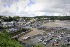 Saundersfoot Pembrokeshire Wales Stock Images
