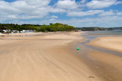 Saundersfoot Pembrokeshire Wales Royalty Free Stock Images