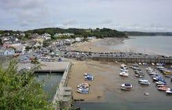 Saundersfoothaven in Pembrokeshire, Wales Stock Foto