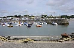 Saundersfoothaven in Pembrokeshire, Wales Royalty-vrije Stock Fotografie