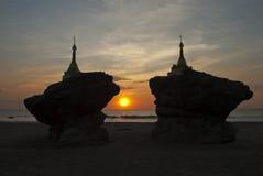 Saung de Ngwe Fotografía de archivo libre de regalías