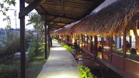 Saung. Sampireun  puri ring road Stock Photo