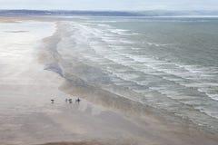 Saunton beach, North Devon Royalty Free Stock Images