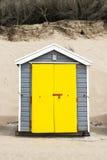 Saunton piasków Plażowe budy Obrazy Royalty Free