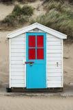 Saunton piasków Plażowe budy Zdjęcie Stock