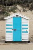 Saunton piasków Plażowe budy Obraz Royalty Free