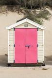 Saunton piasków Plażowe budy Zdjęcia Royalty Free