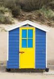 Saunton piasków Plażowe budy Fotografia Royalty Free