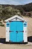 Saunton piasków Plażowe budy Obrazy Stock
