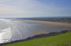 Saunton sands. The waves at saunton sands devon england uk Stock Photo