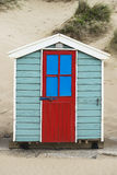 Saunton Sands Beach Huts royalty free stock image