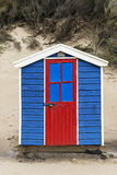 Saunton Sands Beach Huts. Beach Huts at Saunton Sands, Devon, UK Royalty Free Stock Photo