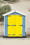 Saunton Sands Beach Huts Royalty Free Stock Photography