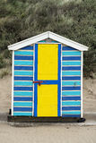 Saunton Sands Beach Huts Royalty Free Stock Images