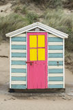 Saunton Sands Beach Huts Royalty Free Stock Image
