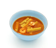 Saure Suppe Stockfoto