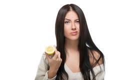 Saure Zitrone Lizenzfreies Stockbild