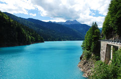 Sauris Lake Royalty Free Stock Photography