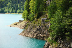 Sauris Lake Stock Photography