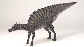 Saurolophus-δεινόσαυρος Στοκ Εικόνες