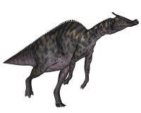 Saurolophus dinosaur - 3D render Stock Photography