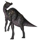 Saurolophus dinosaur - 3D render Stock Image