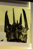 Sauron la máscara del señor de los anillos Fotografía de archivo