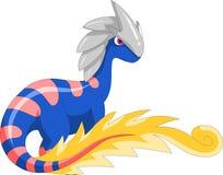 Saurus bleu Images libres de droits