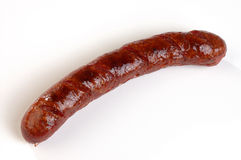 Sausage. Grilled sausage ready for eating Royalty Free Stock Image