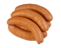 Sausage. Grilled sausage ready for eating Stock Images