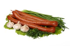 Sausage Royalty Free Stock Photo