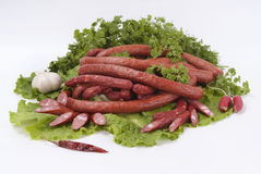 sausage Imagens de Stock
