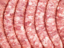 Sausage background Royalty Free Stock Photo