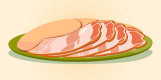 Sausage and bacon Stock Images