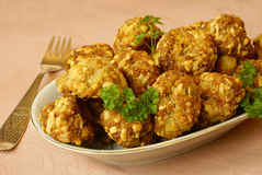 Sausage balls Royalty Free Stock Photography