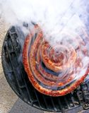 Sausage and barbecue Royalty Free Stock Image