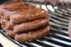 Sausage barbecue Stock Images
