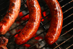 Sausage barbecue Royalty Free Stock Photos