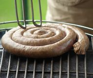 Sausage BBQ Royalty Free Stock Photography