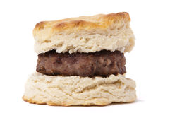 Sausage biscuit Royalty Free Stock Photo
