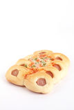 Sausage Bread Royalty Free Stock Photos