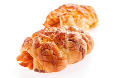 Sausage bread Royalty Free Stock Photo