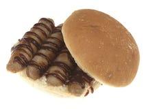 Sausage Breakfast Roll Stock Photo