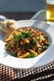 Sausage Broccoli Rabe Dish Royalty Free Stock Photo