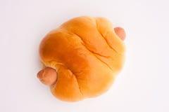 Sausage bun Stock Images