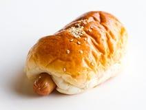 Sausage bun Stock Image