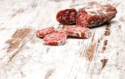 Sausage casings Stock Images