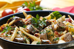 Sausage Casserole Stock Image