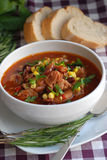 Sausage casserole Royalty Free Stock Images