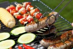 Sausage closeup Stock Photography